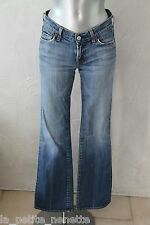 pretty jeans bootcut strechy used SEVEN FOR ALL MANKING size 36/38 (26)