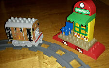 TOBY AT TIDMOUTH STATION DUPLO + TRACK - THOMAS THE TANK ENGINE TRAIN SET LEGO