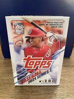 2021 Topps Baseball Series 1 Blaster Box Sealed MLB! Pache, Bohm RC Auto, Trout?