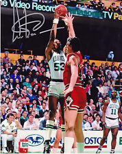 ARTIS GILMORE  BOSTON CELTICS     ACTION SIGNED 8x10