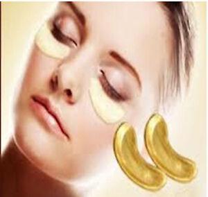Gold Bio Crystal Collagen Eye Mask - 1 Pair - Anti Ageing - Premium Quality