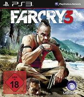 PS3 / Sony Playstation 3 Spiel - Far Cry 3 (mit OVP) (USK18) (PAL)