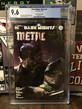 Dark Knights Metal 6 CGC 9.6 Mattina variant