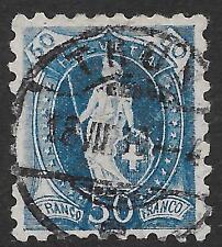 Switzerland stamps 1882 YV 84  P.9 1/2  CANC  VF