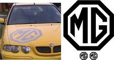MG Bonnet Logo ZR ZS ZT TF MG3 MG6 Decal / Sticker / Large + 2x FREE SMALL SIZE