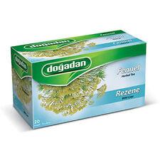 Dogadan Fennel Herbal Tea Bags ( 1 Box / 20 teabags ) Premium Quality, UK Seller
