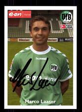Marco Laaser Autogrammkarte VFB Lübeck 2003-04 Original Signiert+A 132248