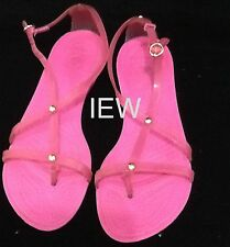Crocs Really Sexi Flip Sandal Strappy Flats Fuchsia Size 7 NNU