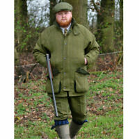 Mens Tweed Countryman Waterproof Jacket - Tweed Breeks - Tweed Flat Cap