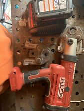 Ridgid Rp 210 Pressframe 18v Compact Press Tool Battery Amp Need Charger Cable