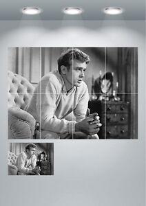 James Dean Vintage Actor Large Wall Art Poster Print