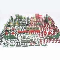 330pcs Army Men Playset with   Vehicles, Accessories, Plastic Toy