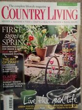 March Country Living Home Magazines in English