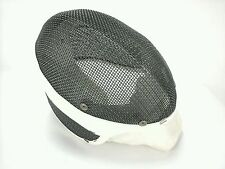Fencing Helmet Santelli NYC Blade Mask Wire Mesh Face Guard White