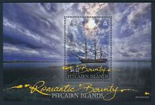2012 PITCAIRN ISLAND ROMANTIC BOUNTY MINISHEET FINE MINT MNH