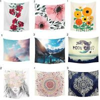 GT- Modern Wall Hanging Tapestry Hippie Throw Bedspread Tablecloth Beach Towel E