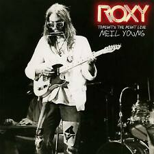 NEIL YOUNG - ROXY TONIGHT'S THE NIGHT LIVE (Double LP Vinyl) sealed