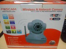 Foscam FI8918W Wireless/Wired Pan & Tilt IP/Network Camera Night Vis 3.6mm Lens