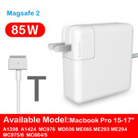 85W Model T MagSafe2 AC Charger Power Adapter For Macbook Pro A1398 A1424 MC976