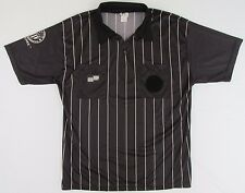 OFFICIAL SPORTS US Soccer Federation Referee Jersey Black Short Sleeve XL SS