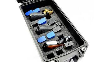 New Precut Quick Draw 3 pistol handgun gun foam kit fits Pelican Vault V250 case