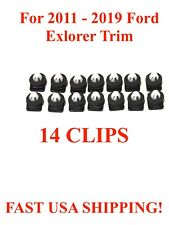 2011-2018 Ford Explorer Windshield Molding Clips With Sealer 14 Piece