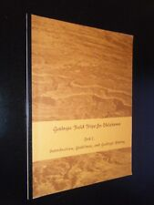 Geologic Field Trips In Oklahoma Book I Kenneth Johnson Intro Guidelines History