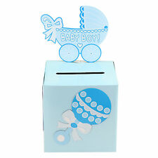 Baby Girl and Boy Baby Shower Keepsake Wishing Well Carriage Decoration Box