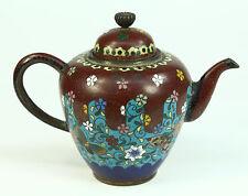 *Antique FINE Meiji (1868-1912) Japanese Cloissone Enamel Diminutive Tea Pot