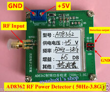 50HZ-3.8GHZ RF Radio Frequency Detector / Power Detection / RMS detector AD8362