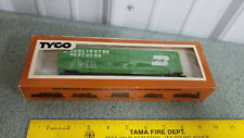 TYCO HO Scale Train Box Car 50 foot Plug Door Burlington Northern 339E