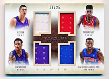 2013-14 Immaculate Len Nerlens Noel McLemore Caldwell-Pope Quad Jersey Rc 18/25