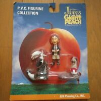 DISNEY JAMES AND THE GIANT PEACH FIGURE 3 PIECE SET JUN PLANNING TIM BURTON