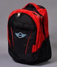 NEW MINI COOPER BLACK BACKPACK BAG