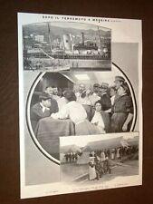 Terremoto in Calabria e Sicilia 28 dicembre 1909 Nave Ospedale Prof.Gius.Russo