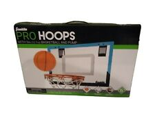Franklin Pro Hoops With 5 Inch Basketball And Pump, Shatterproof Backboard Dual