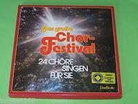 Das große Chor Festival 24 Chöre singen - Das Beste 6 LP Box