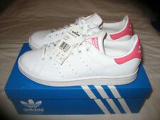 NEW Adidas Originals Stan Smith W White/Pink UK 8 US 9.5 F 42 BB5449