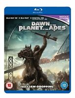 Dawn Of The Planet Of The Apes [Blu-ray] [DVD][Region 2]