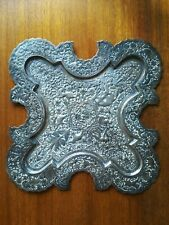 Persian Silver Platter serving Tray