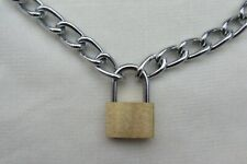PUNK PADLOCK NECKLACE