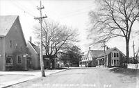 Friendship Maine~Main Street~General Store~Bell Telephone~Kodaks~1940s RPPC