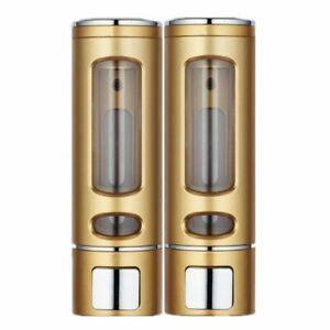 400ml Soap Dispenser Wall Mount Shower Shampoo Dispenser Liquid Soap Container