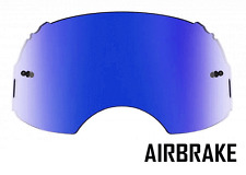 GOGGLE-SHOP ICE BLUE MIRROR LENS to fit OAKLEY AIRBRAKE MOTOCROSS GOGGLES