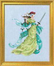 New Mirabilia Cross Stitch Chart. MD160 Lady Justice