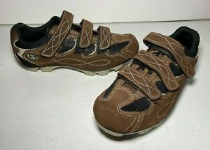 Specialized Body Geometry Women's Bike Cycling Shoes Brown Suede Size 8.5 / 39