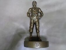 "HEAVY 7"" CAST STATUE OF A 19TH CENTURY MAN - POSSIBLY BRONZE - WEIGHS 1 KG"