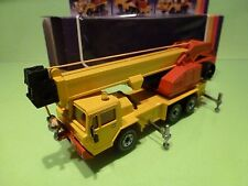 SIKU 2914 MOBIL CRAN - KRANWAGEN - YELLOW  - EXCELLENT CONDITION IN BOX