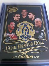 2015 AFL Select Honours 2 Carlton Honour Roll CHR4 low number #004