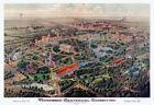 """1897 Tennessee Centennial Exposition, Nashville, Tennessee Art Print 13"""" x 19"""""""